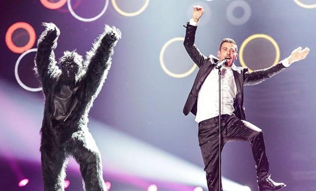 italy gorilla eurovision recency effect